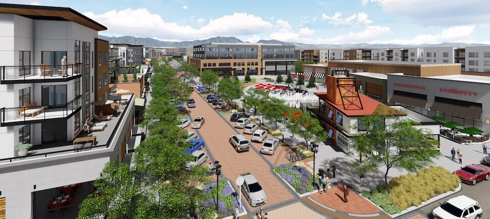 Downtown Superior Main Street Rendering